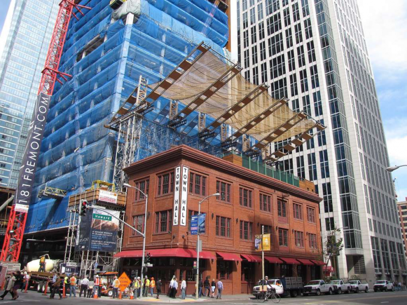 181 Fremont construction in San Francisco