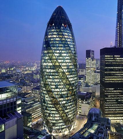 London's Gherkin