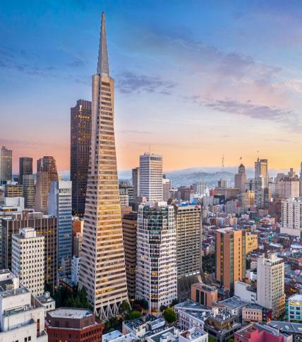 San Francisco's Transamerica building